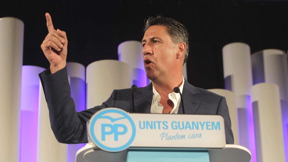 Foto: El candidato del PP a la Generalitat, Xavier García Albiol (EFE)