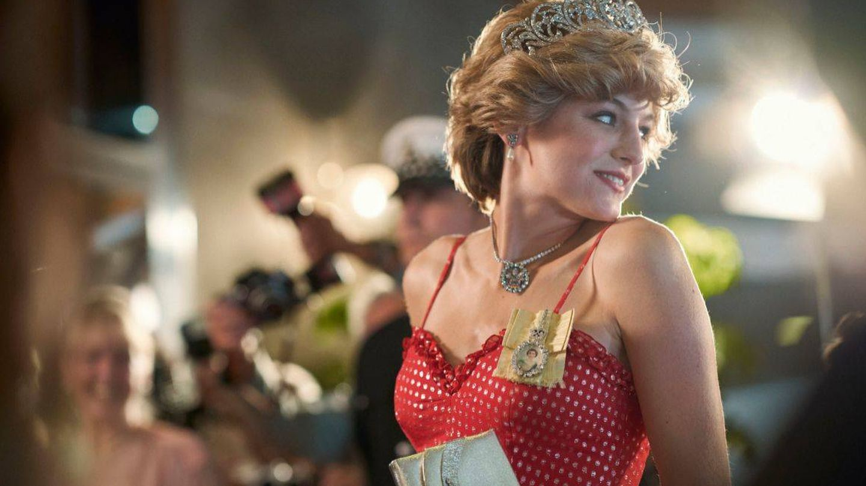 Diana, en 'The Crown'. (Netflix)