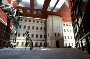 La Reina inaugura los nuevos edificios de ampliación del Museo Reina Sofía