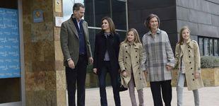Post de Vuelve la calma: Sofía, Letizia y sus hijas, Leonor y Sofía, de nuevo juntas y felices