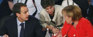 Foto: Merkel asegura estar impresionada por las medidas de ajuste adoptadas por España