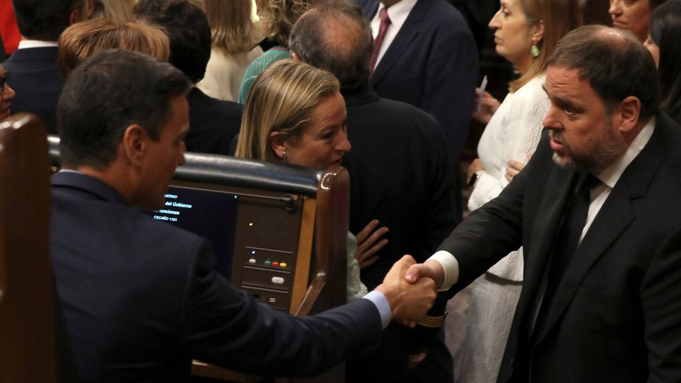 Junqueras llama cobarde a Sánchez por negarse a negociar con el independentismo