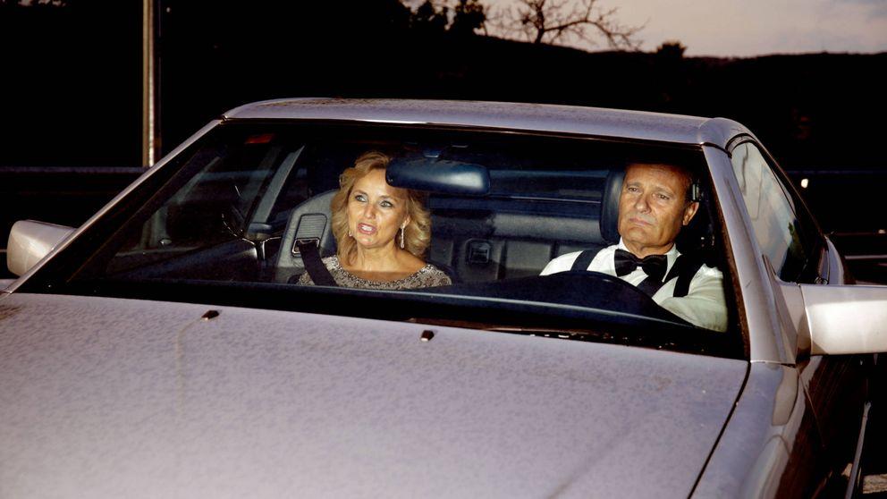 Javier Merino presenta en sociedad a su novia en la gran fiesta de Fortuny