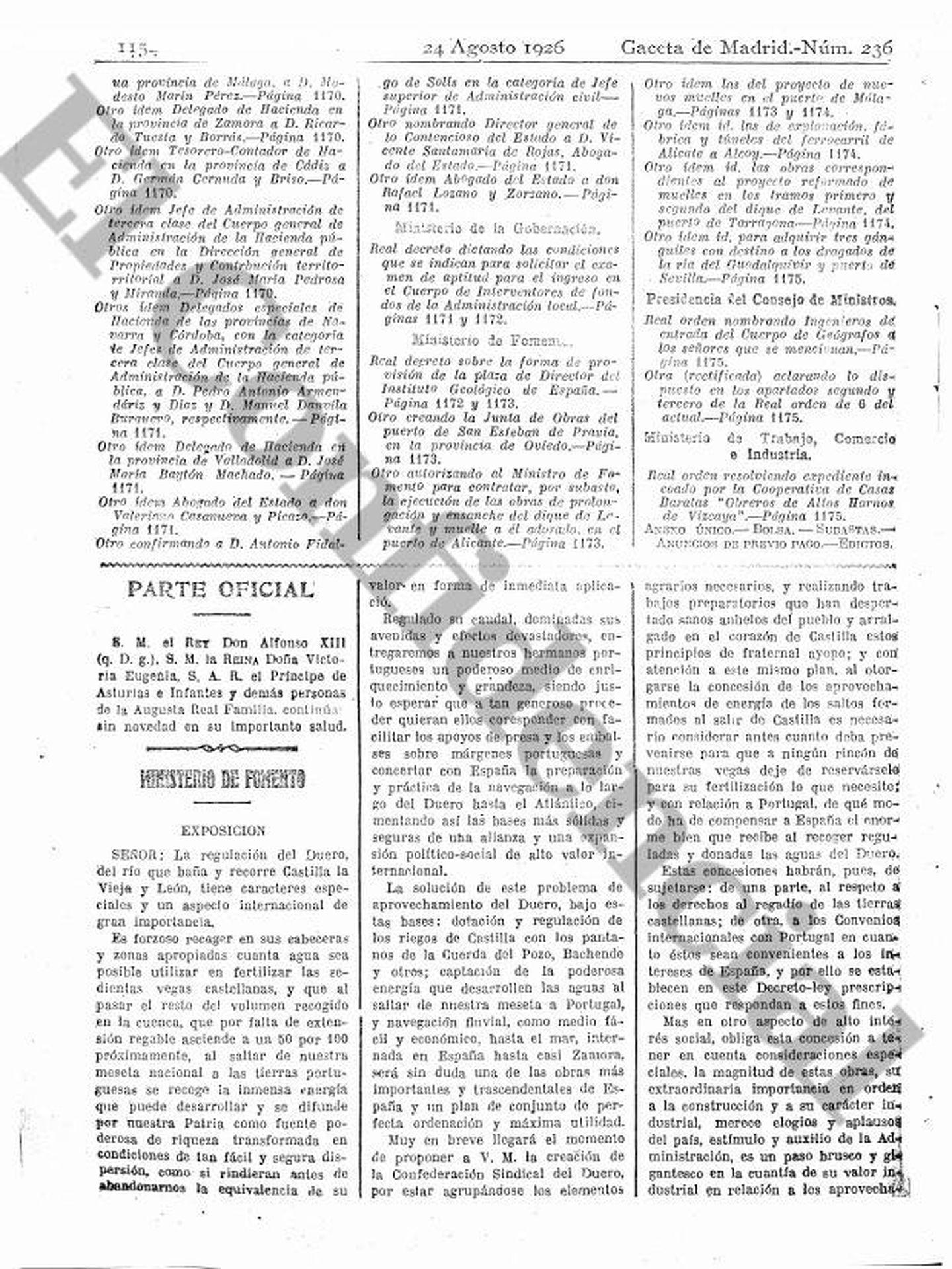 Pinche para ver la publicación de 1926