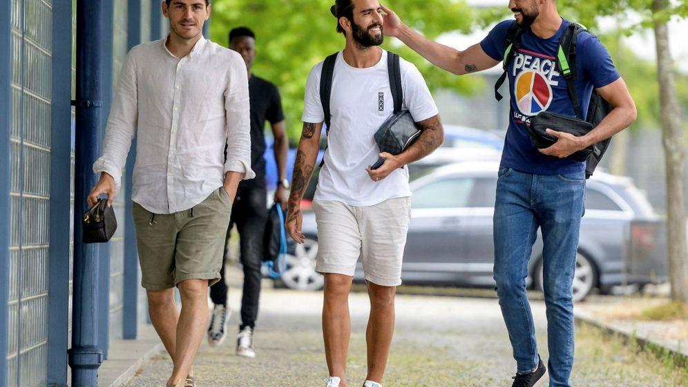 Foto: Casillas se une a la pretemporada del Oporto dos meses después de su infarto agudo de miocardio. (EFE)