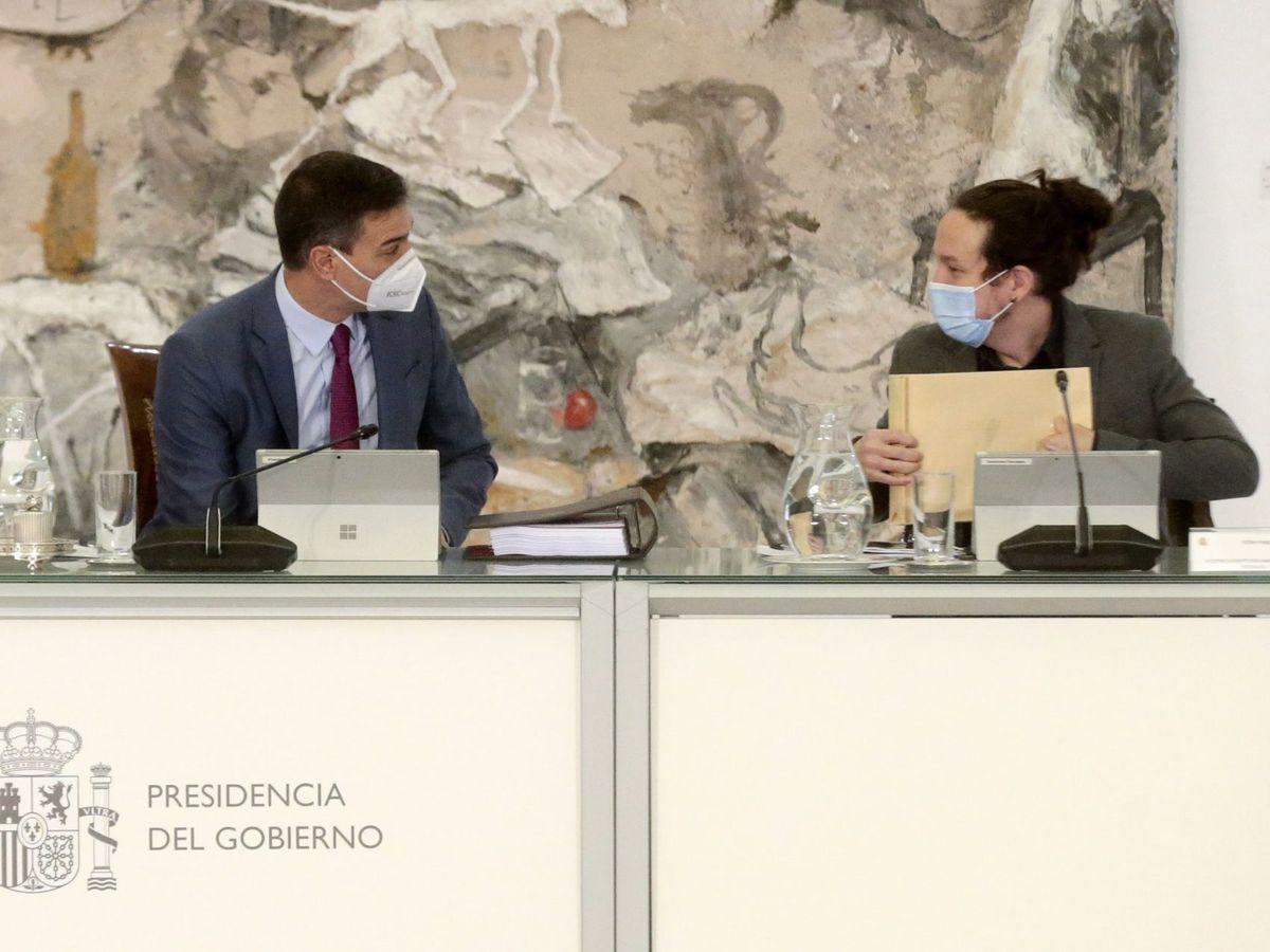 Foto: Reunión del consejo de ministros