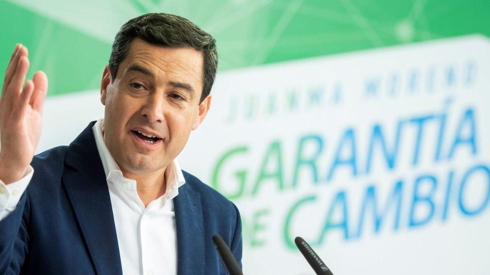 Foto: El presidente del PP andaluz y candidato a la presidencia de la Junta, Juanma Moreno. (EFE)
