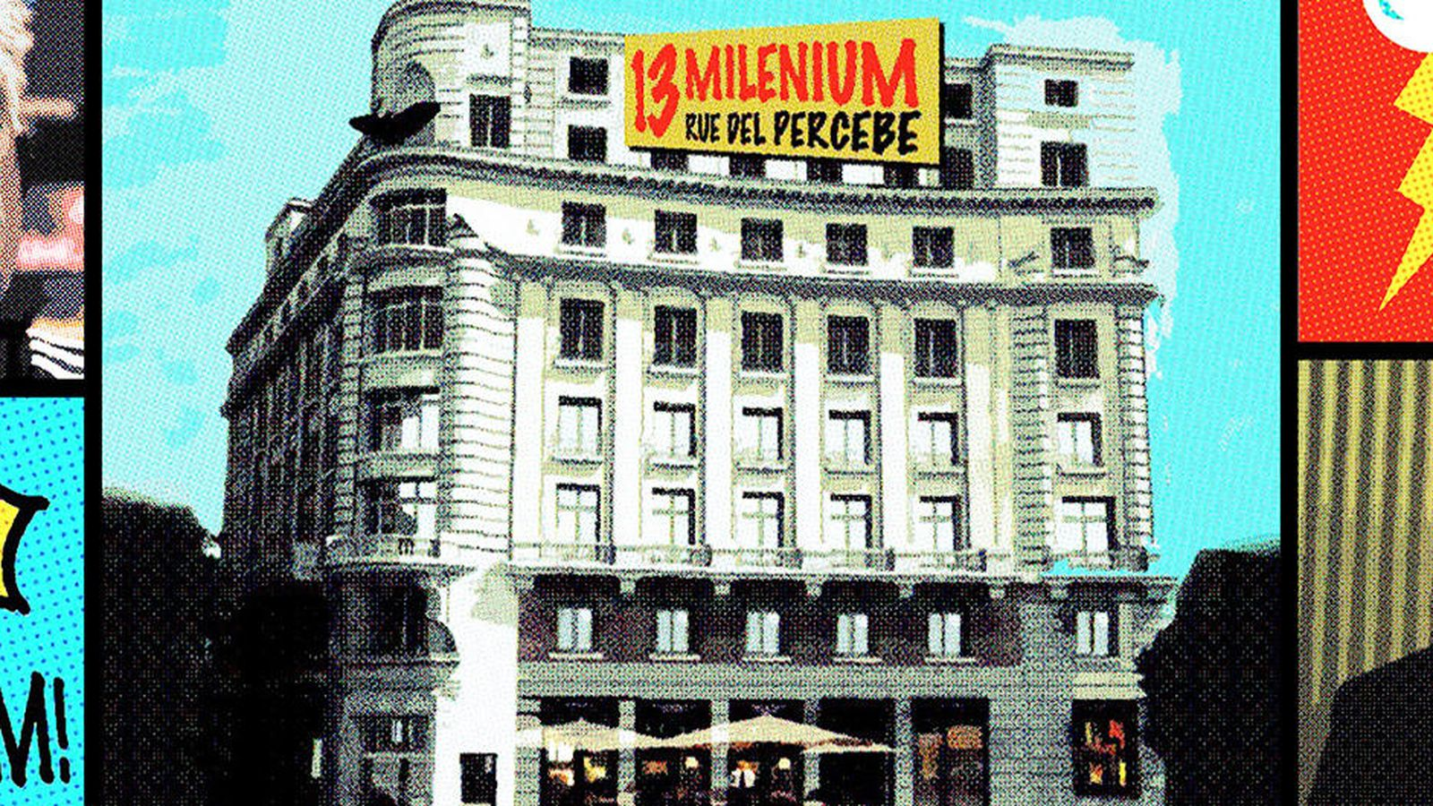 Edificio millenium o 13 rue del percebe los l os de la for Edificio de la comunidad de madrid