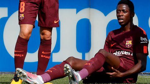 ''Es una situación muy delicada: dudas sobre la grave lesión sufrida por Dembélé