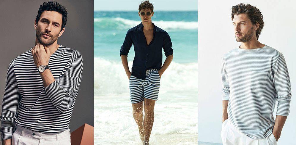 Foto: Rumbo al verano. Así se combinan las prendas de rayas esta temporada. (Foto: Massimo Dutti)