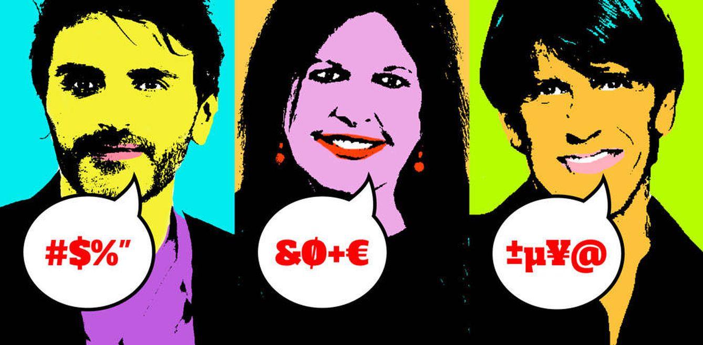 Foto: Fernando Tejero, Loles León y el Cordobés en un fotomontaje de Vanitatis