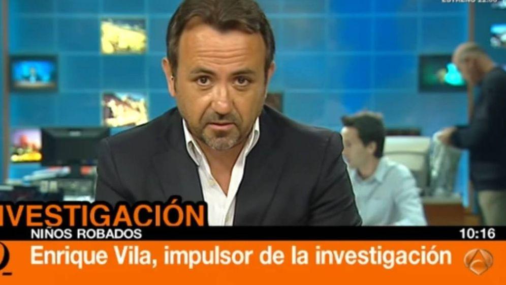 Foto: Enrique Vila, abogado de los padres preadoptivos, durante una intervención en Antena 3.