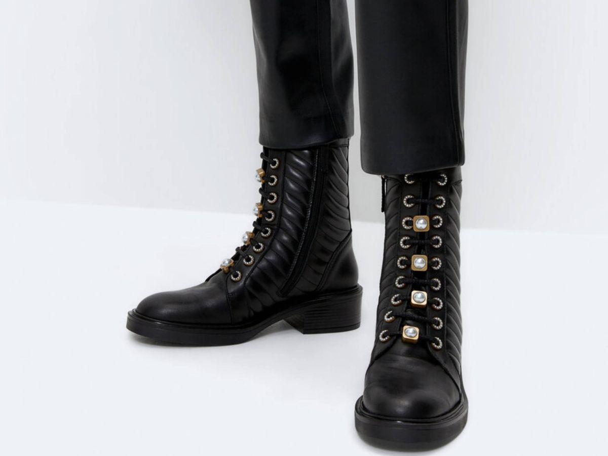 Foto: Las botas de Uterqüe. (Cortesía)