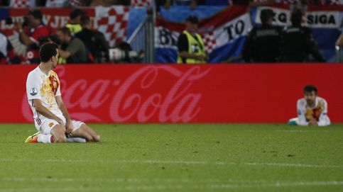 Las mejores imágenes del Croacia-España