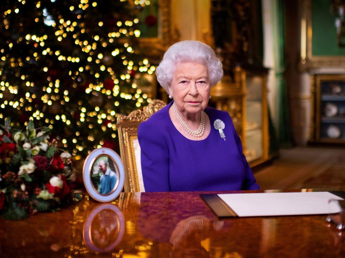 Foto: La reina Isabel II, en su discurso navideño. (Reuters)