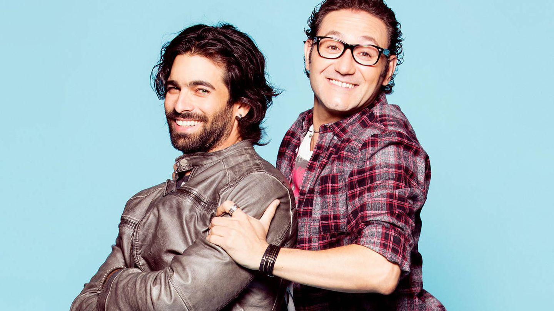 Carlos Santos y Rubén Cortada protagonizan 'Ella es tu padre'. (Mediaset España)