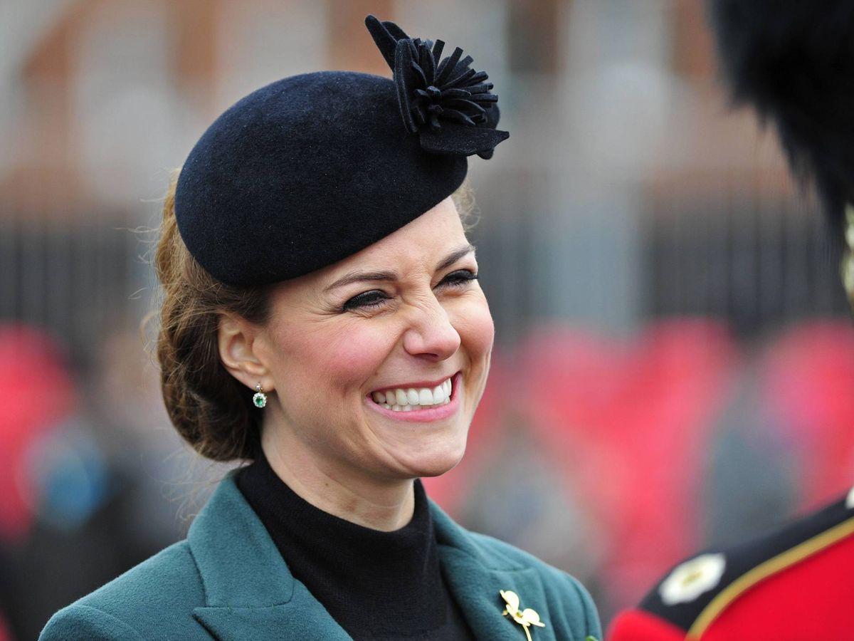 Foto: La duquesa de Cambridge, en St. Patrick's Day. (Getty)