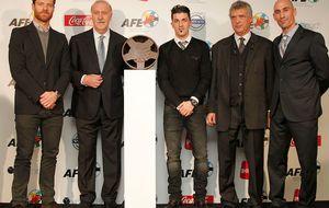 La AFE junta a Tebas y Villar enla nueva sede de los futbolistas