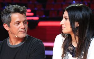 Primeras impresiones de Laura Pausini y Alejandro Sanz como 'coaches' de 'La Voz'