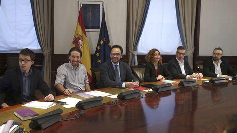 La foto de 2016 que aún pesa en Cs: Que quede claro que alejamos a Podemos