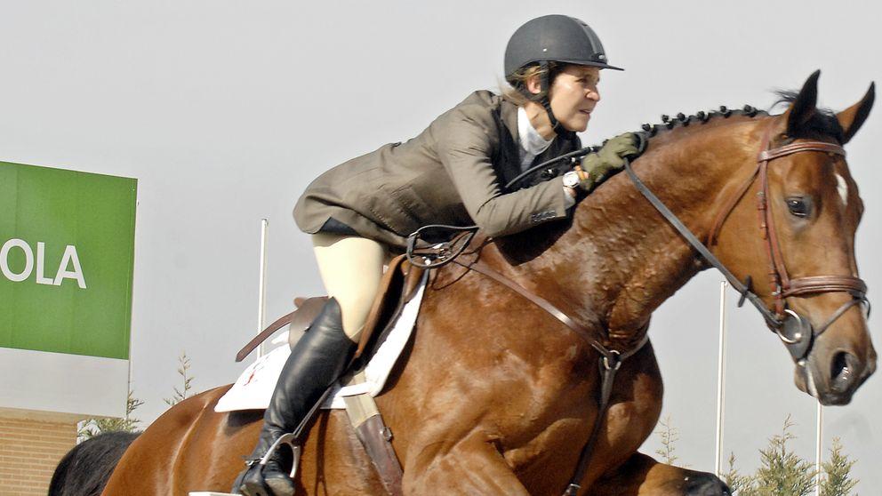 La faceta oculta de la infanta Elena como criadora de caballos