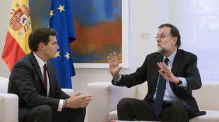 La próxima ofensiva de Rivera contra Rajoy: seguir con el 155