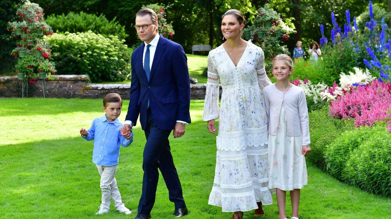 La princesa Victoria celebra su cumpleaños en el palacio de Solliden. (Cordon Press)