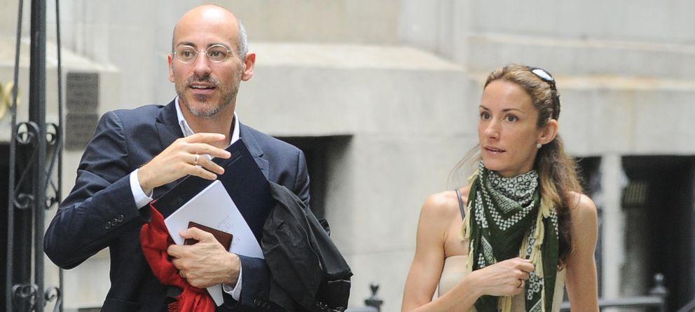 Foto: Telma Ortiz y Jaime del Burgo en Nueva York en mayo de 2012 (Gtres)