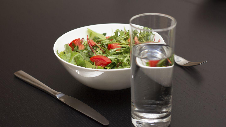 Las ensaladas también son muy importantes para perder los kilos que nos sobran