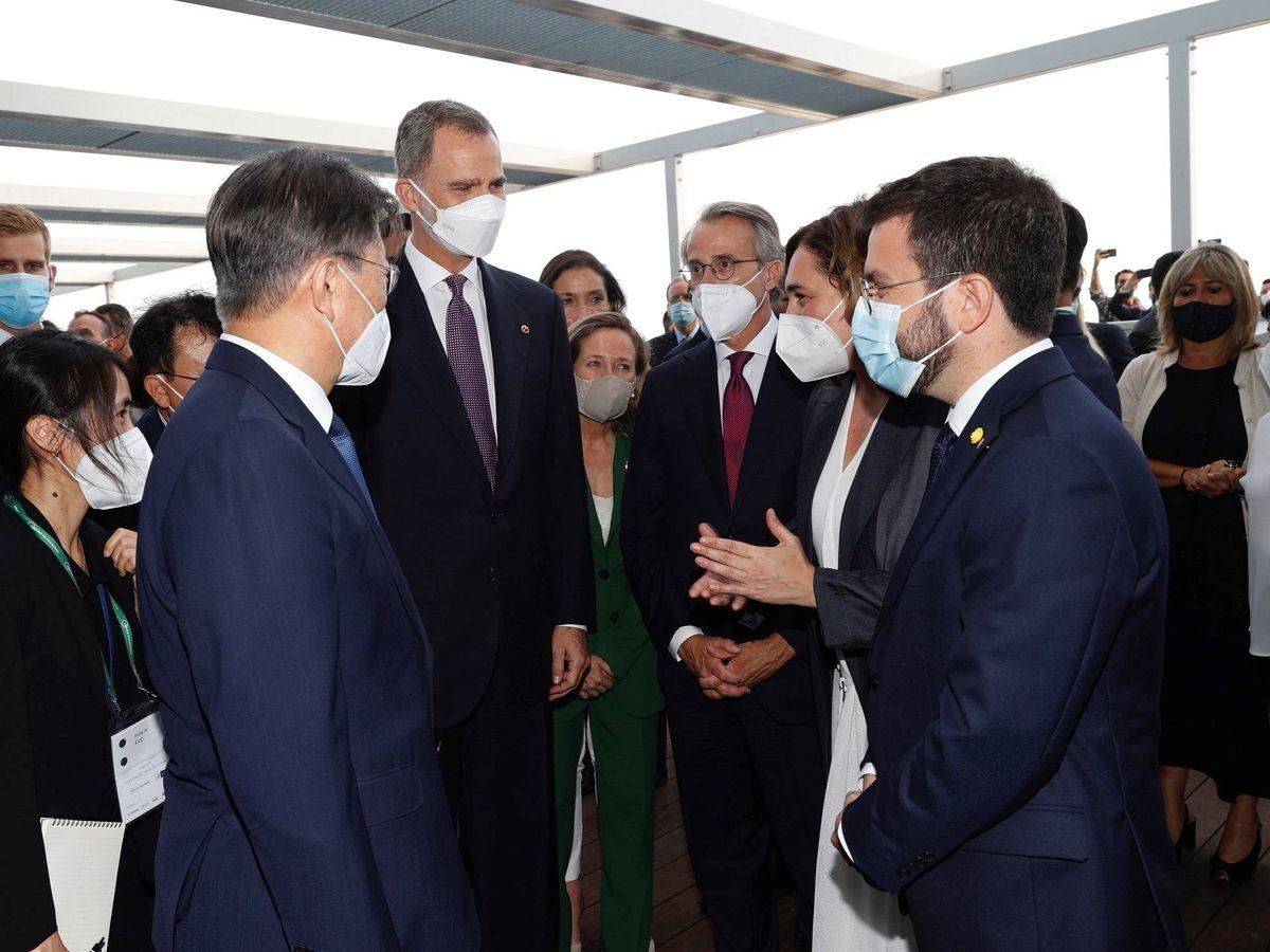 Foto: Reunión anual del Cercle d'Economia. (EFE)