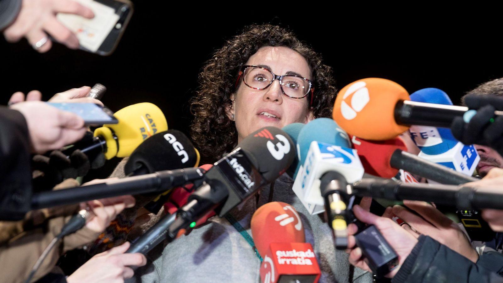 Foto: La secretaria general de ERC y número dos de la lista para el 21D, Marta Rovira. (EFE)
