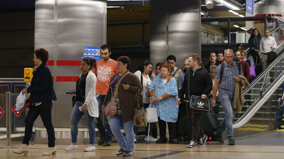 Foto: La estación de Chamartín de Metro (EFE)