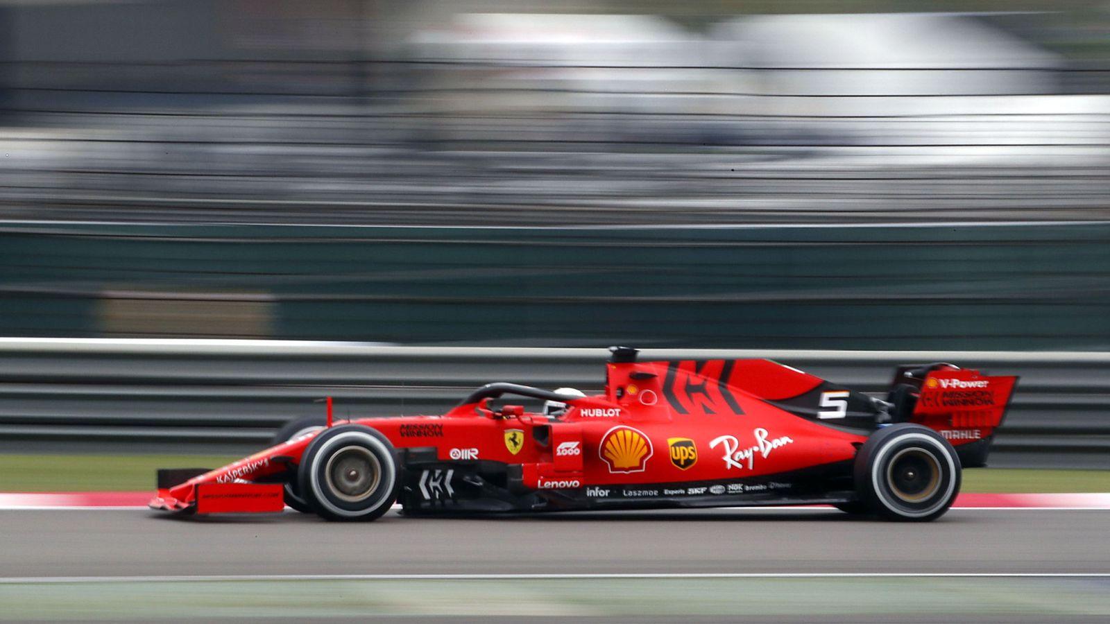 Foto: Ferrari no dio la talla en China. (EFE)