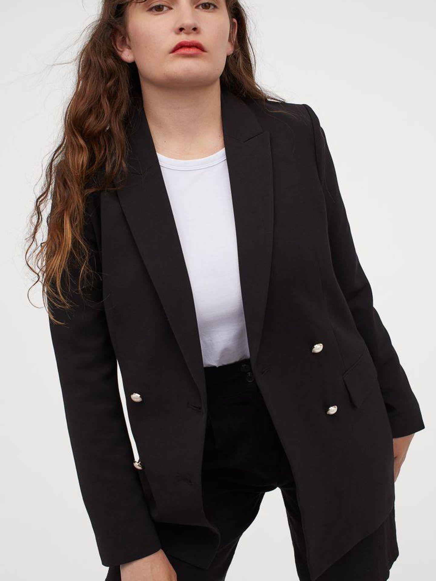 El traje de chaqueta de HyM. (Cortesía)