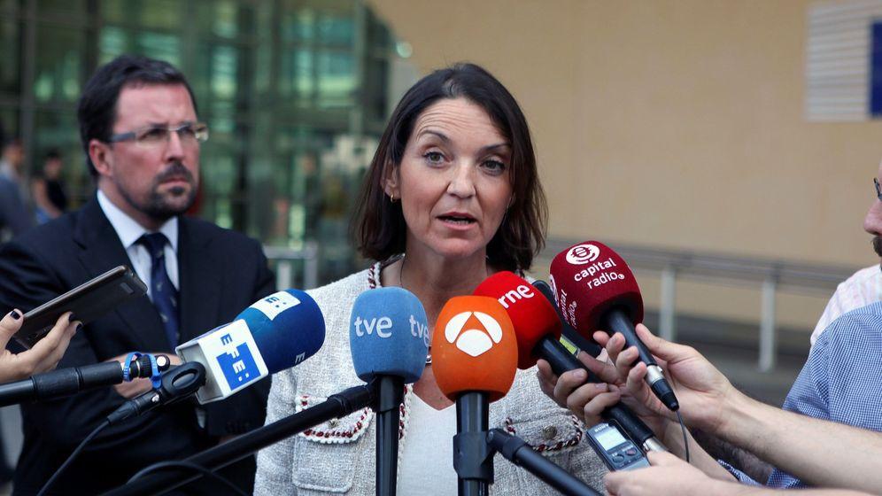 Foto: La ministra de Industria, Comercio y Turismo, María Reyes Maroto. (EFE)