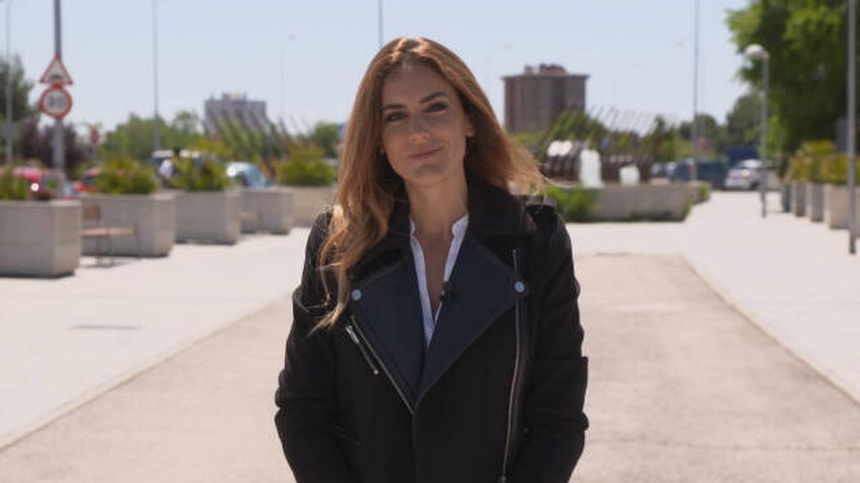 Verónica Dulanto en el programa 'La comunidad'. (Telemadrid)