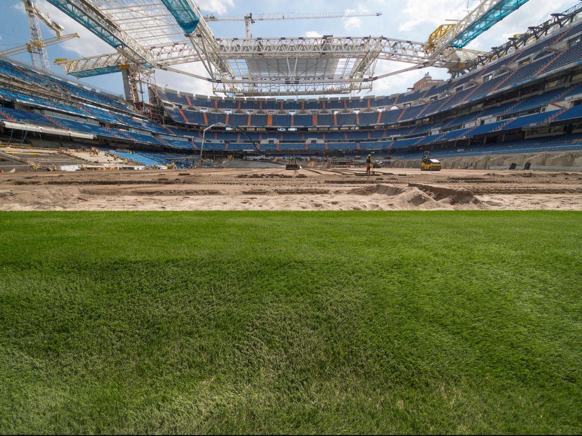 Foto: Interior del Estadio Santiago Bernabéu. (EFE)