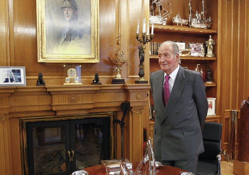 Foto: El Rey don Juan Carlos en una imagen de archivo en el Palacio de la Zarzuela (I.C.)