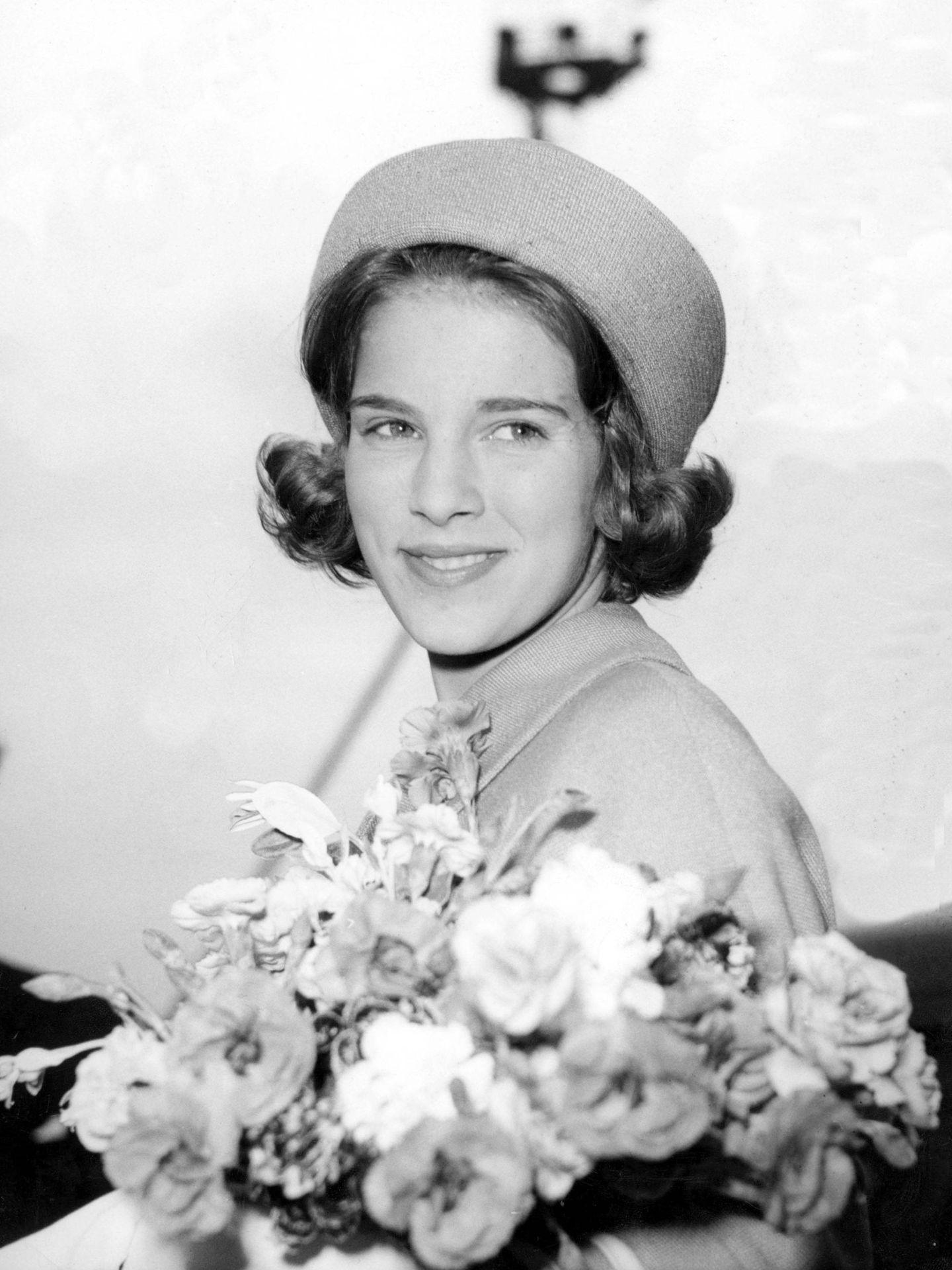 Ana María de Grecia, en 1962. (Cordon Press)