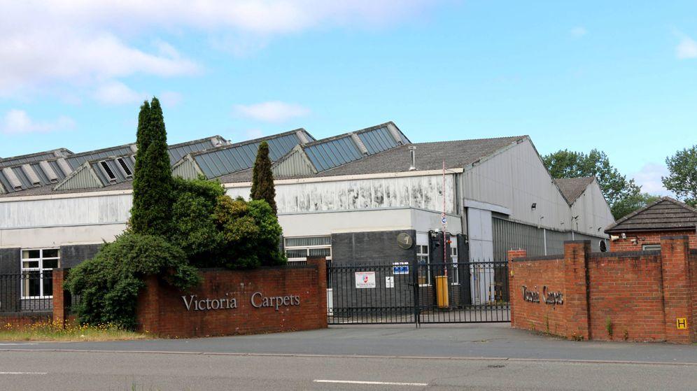 Foto: Victoria Carpets (o Victoria PLC) tiene su sede actual Kidderminster, al noroeste de Londres.
