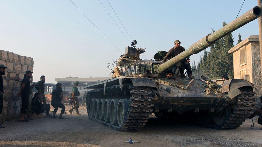 Los rebeldes sirios logran nuevos avances tras romper el cerco de Alepo