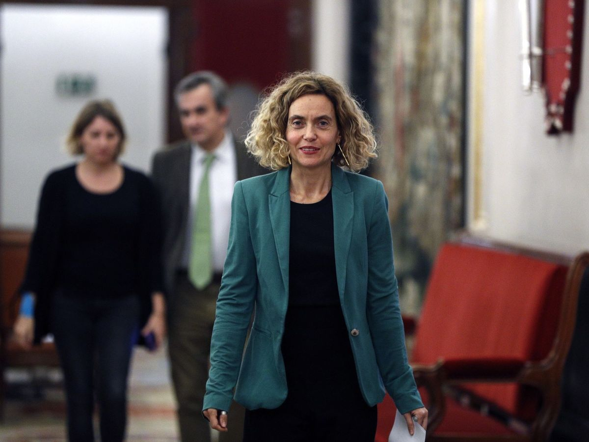 Foto: Meritxell Batet, presidenta del Congreso. (EFE)