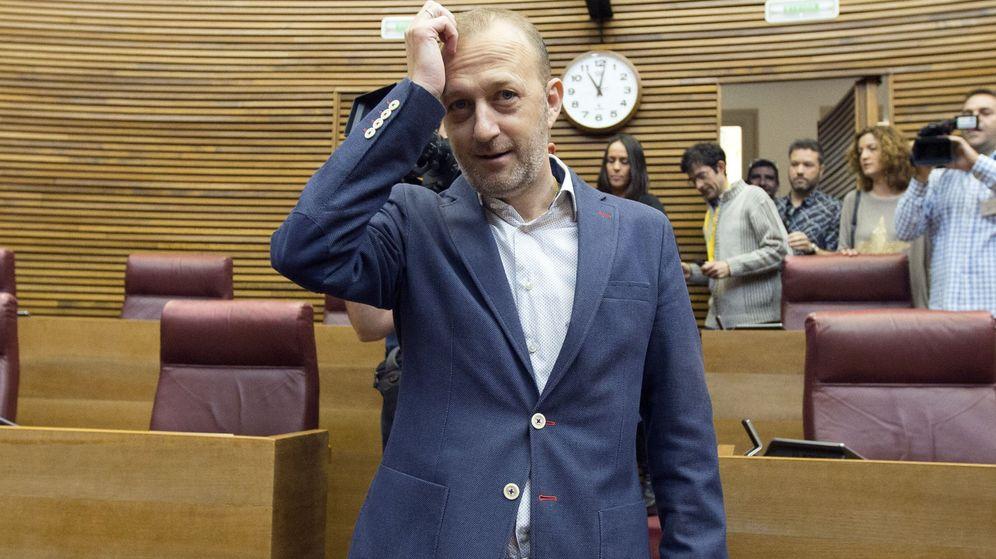 Foto: Alexis Marí y otros tres diputados han abandonado el grupo de Ciudadanos en las Cortes Valencianas. (EFE)