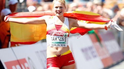 Julia Takacs, bronce: primera medalla de España en los Europeos de atletismo