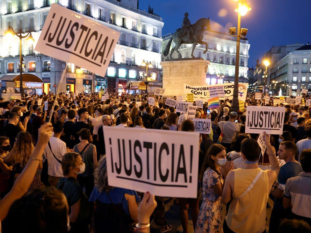 Foto: Marcha contra la homofobia en Madrid este septiembre. (EFE)