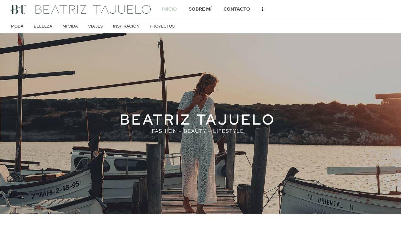 Cabecera de la web de Tajuelo. (Cortesía)