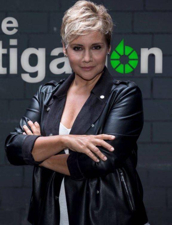 La periodista Gloria Serra