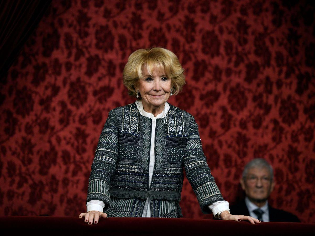 Foto: La expresidenta de la Comunidad de Madrid Esperanza Aguirre. (EFE)