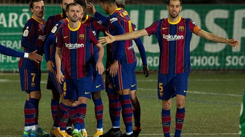 Dembélé salva al Barça del desastre en Cornellà con un picotazo en la prórroga (0-2)