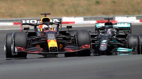 En directo F1   Verstappen adelanta a Bottas y Hamilton busca aguantar una situación límite